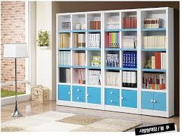 Locker Bookshelf A Blue Multifunctional Bookcase Bookshelf Free Combination Of Big