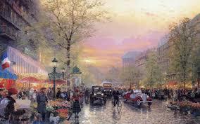 paris city lights boulevard des lumieres at dusk thomas