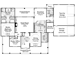 Colonial Open Floor Plans Stonewood Lane Country Home Plan 077d 0283 House Plans And More