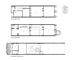 floor plans with courtyards gallery of townhouses with private courtyards baan puripuri 18