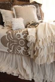 whisper ivory bed skirt ivory bedrooms and brown