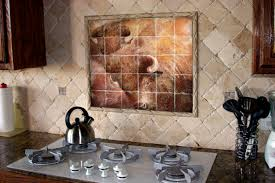 decorative kitchen backsplash kitchen tile murals pacifica tile studio