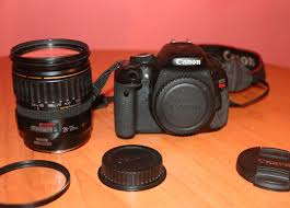 camara canon t3i con lente 28 135 y accesorios bs 1 650 000 00