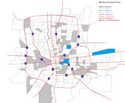 Kansas City Zip Code Map Crime All Columbus Ohio Data