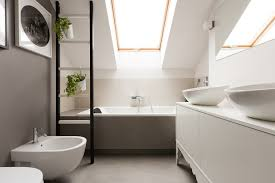 Small Attic Bathroom Sloped Ceiling by Attic Bathroom Ideas Gurdjieffouspensky Com