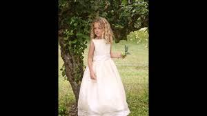 Flower Girls Dresses For Less - 2014 flower dresses collection little eglantine youtube