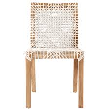 Woven Dining Chair Evon Dining Chair Woven Leather For Sale Weylandts Australia