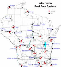 rest area finder wisconsin department of transportation rest areas locations