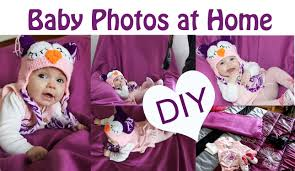diy baby photoshoot at home easy u0026 simple ideas pictures i