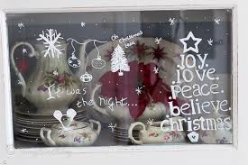 Traditional Christmas Window Decorations by My Hutch Has Christmas Window Decorations Songbird