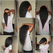how to trim relaxed hair hair update rehairducation