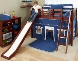 Bunk Bed With Slide And Tent Foter - Ikea bunk bed slide