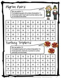 thanksgiving math images november