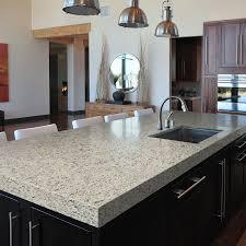 dessus de comptoir de cuisine pas cher granite au sommet