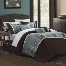 Queen Comforter On King Bed Buy Brown Comforter Sets From Bed Bath U0026 Beyond