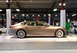 lexus new 2018 all new 2018 lexus ls steps boldly into the future