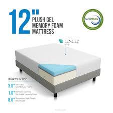 amazon com lucid 12 inch gel memory foam mattress triple layer