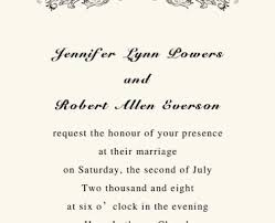 simple wedding invitation wording wedding invitation simple wedding invitation wording ikoncenter