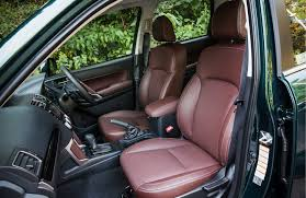 subaru forester interior 2017 subaru announces special edition forester for the uk