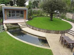 Modern Backyard Design Ideas Cheap Landscaping Ideas For Back Yard Large Backyard Modern A Few