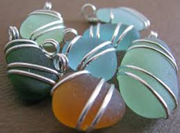 How To Make Jewelry From Sea Glass - 42 best crystal stone projects images on pinterest wire wrapping