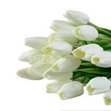 aliexpress com buy new qualified 10pcs tulip artificial flower