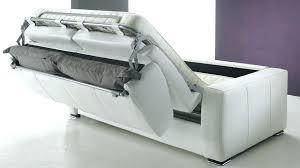canapé convertible en cuir pas cher fauteuil convertible cuir banquette lit cuir canape lit cuir blanc