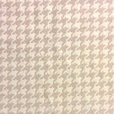 Upholstery Weight Fabric Houndstooth Taupe And Ivory Classic Houndstooth Heavy Weight Woven