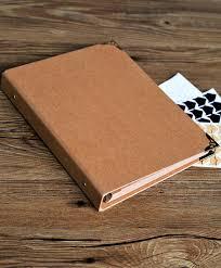 scrapbook binder 80 pages blank kraft photo album ring binder photo album scrapbook
