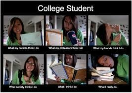 College Life Memes - college life as a college student home for winter break funny