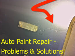 top 10 auto paint repair problems and solutions