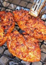 sweet and spicy italian bbq grilled chicken plain chicken