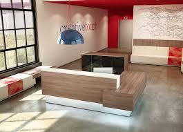 Zira Reception Desk Reception Furniture By Cubicles Com