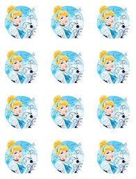 cinderella cupcake toppers cinderella cupcake toppers set of 12 kitchen dining
