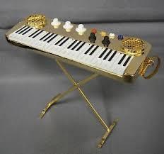 brass 4 keyboard musical instrument ornament new