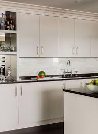 Flat Front Kitchen Cabinet Doors Various Light Gray Flat Front Kitchen Cabinets Design Ideas