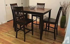 raymour and flanigan dining table raymour flanigan 5 pc counter height dining set for sale in