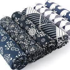 canapé style ée 50 style de kimono feuille d or impression tissu pour bricolage à la