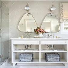 bathroom vanity mirrors ideas triangle bathroom mirrors design ideas