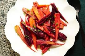thanksgiving carrot side dish recipe pan roasted carrots with miso butter recipe epicurious com