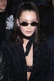 perisian hair styles bella hadid in 5 hairstyles from paris couture week vogue paris