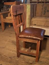 Mission Style Dining Chairs Buy Hand Made Reclaimed Oak Mission Style Dining Chairs With