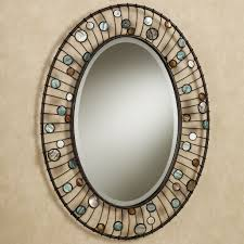 Bathroom Decorative Bathroom Mirrors Awesome Wonderful Oval Shape