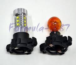 Home Led Light Bulbs by Led Light Bulb 80w 1000k Red 12190 5200 Py24w Y Py24wy Amber Pgu20