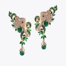 most beautiful earrings silver lucky elephant stud earrings s bling