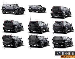 hauk designs peterbilt artstation battlefield hardline cars alex brady cyberpunk