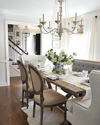 Farmhouse Dining Room Tables Furniture Impressive Dining Tables With Bench Furniture Dining