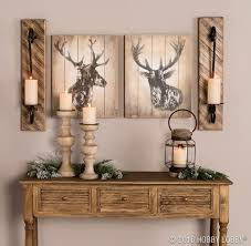 Deer Themed Home Decor Cabin Decor Log Cabin Living Room Cabin Decor Living Rooms Cabin