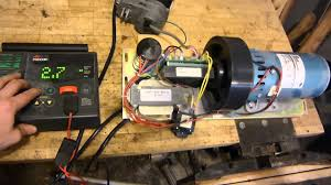1 5hp dc treadmill motor with working controller youtube