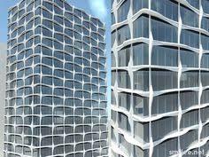 Idéias De Design De Fachada Moderna ARQ RES EXTERNO - Apartment facade design
